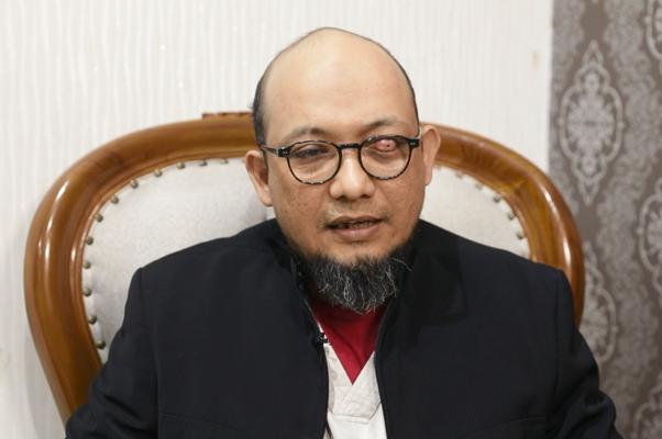 Penyidik Komisi Pemberantasan Korupsi Novel Baswedan mengalami kerusakan mata kiri akibat diserang orang tak dikenal pada 11 April 2017 (Tim IndonesiaLeaks)
