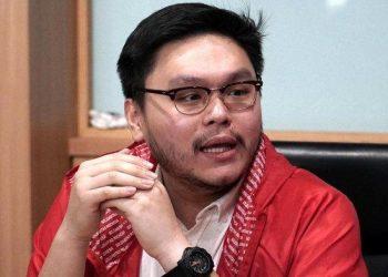 Politikus PSI, William Aditya Sarana. (Tribunnews.com/Ricky Martin Wijaya)