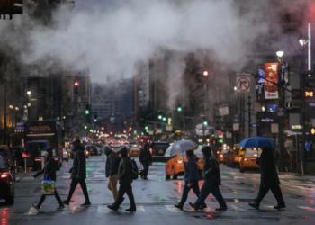 Polusi udara di Inggris. (AP/ Kevin Hagen via Los Angeles Times)