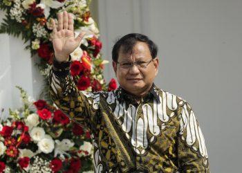 Menteri Pertahanan, Prabowo Subianto. (Reuters)