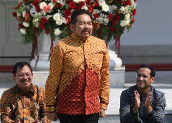 Jaksa Agung, ST Burhanuddin. (ANTARA FOTO/Wahyu Putro A)