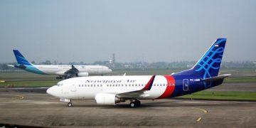 Garuda Indonesia dan Sriwijaya Air. (Wikipedia)