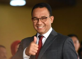 Gubernur DKI Jakarta, Anies Baswedan. (Tirto.id/Andrey Gromico)