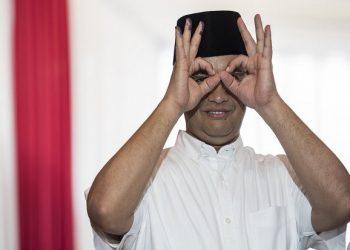 Gubernur DKI Jakarta, Anies Baswedan. (Antara Foto/M Agung Rajasa )