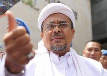 Habib Rizieq Shihab. (Pinterpolitik.com)