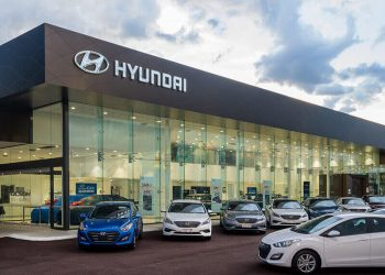 Ilustrasi pabrik Hyundai. (istimewa)