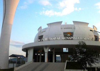 Masjid Al-Munawaroh, Sentul City. (istimewa)