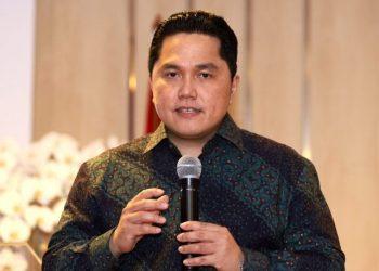 Menteri BUMN, Erick Thohir. (Dery Ridwansah/ JawaPos.com)