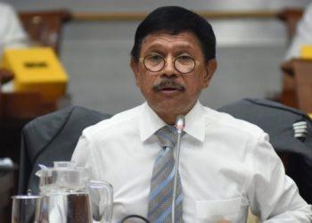 Menteri Komunikasi dan Informatika, Johnny G. Plate. (Antara)