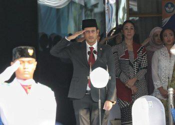 Menteri Pendidikan Nadiem Makarim. (Liputan6.com/Johan Tallo)