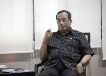 Menteri Perhubungan Budi Karya Sumadi. (Media Indonesia/ ARYA MANGGALA)