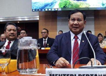 Menteri Pertahanan Prabowo Subianto. (Lamhot Aritonang/Detikcom)