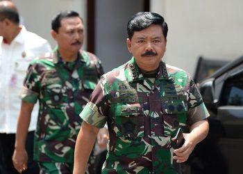 Panglima TNI Marsekal TNI Hadi Tjahjanto. (Antara Foto/M Risyal Hidayat)