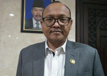 Wakil Ketua DPD Partai Gerindra DKI Jakarta Syarif. (Kompas.com/Sherly Puspita)