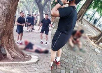 Anggota TNI yang jadi korban ledakan di Monas.