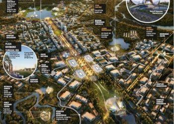 Desain Ibu Kota Baru, Nagara Rimba Nusa.