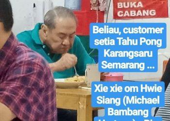bos Djarum dan BCA, Michael Bambang Hartono. (Twitter)