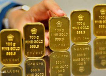 Emas Antam. (Antara Foto)