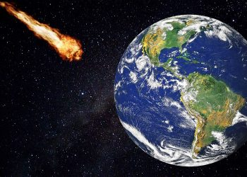 Ilustrasi Steroid mendekati Bumi. (Pixabay.com)
