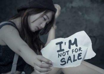 Ilustrasi korban perdagangan manusia. [shutterstock]
