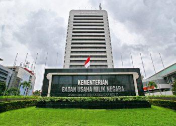 Kantor Kementerian Badan Usaha Milik Negara. (istimewa)