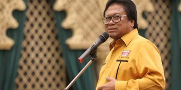 Ketua Umum Partai Hanura Oesman Sapta Odang (OSO). (Hendra Eka/JawaPos.com)