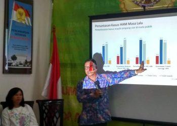 Komisioner Komnas HAM, Choirul Anam. (Somad/Jaring.id)