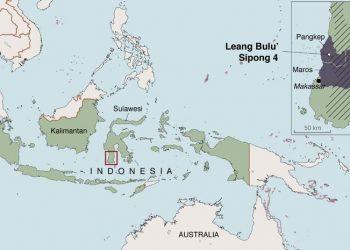 Lokasi Situs Leang Bulu' Sipong 4 di kawasan Karst Maros Pangkep, Sulawesi Selatan. (Kim Newman)