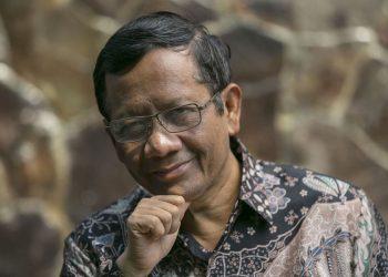 Menteri Koordinator Bidang Politik, Hukum, dan Keamanan Mahfud MD. (istimewa)