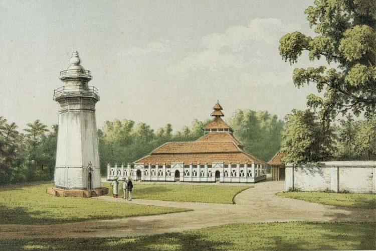 Masjid Banten Lama, Desa Karangantu Serang Banten. (Tropenmuseum)