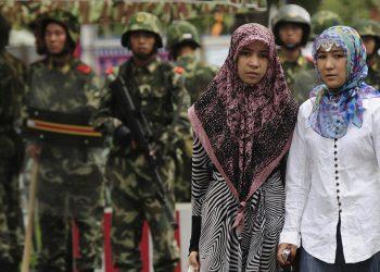 Muslim Uighur. (istimewa)