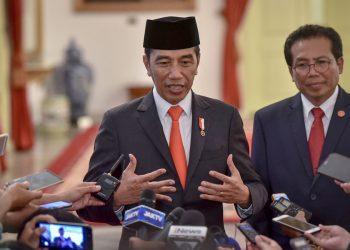 Presiden Jokowi . (AGUNG/Humas)