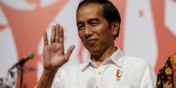 Presiden Jokowi. ((AFP PHOTO / ANTHONY WALLACE)