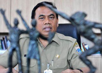 Sekretaris Daerah (Sekda) DKI Jakarta Saefullah. (Jefri Aries/Beritagar.id)