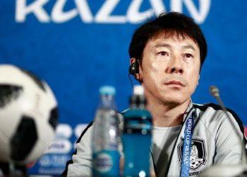 Shin Tae-yong. (Benjamin CREMEL / AFP)