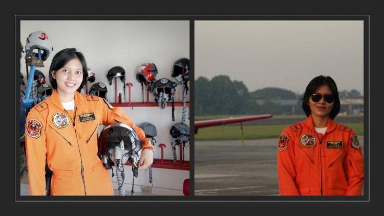 Letda Pnb Ajeng Tresna Dwi Wijayanti menjadi penerbang tempur perempuan pertama (ist)