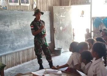 Prajurit TNI AD Prada Budi