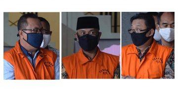 KPK Tahan Tiga Mantan Pimpinan DPRD Provinsi Jambi terkait kasus uang ketuk palu RAPBD 2017-2018