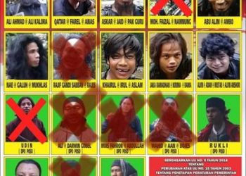 11 Foto DPO Mujahidin Indonesia Timur Kelompok Ali Kalora Bantai Keluarga Kristen di Sigi