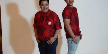 Menteri BUMN Erick Thohir dan Kaesang Pangarep (twitter Erick Thohir)